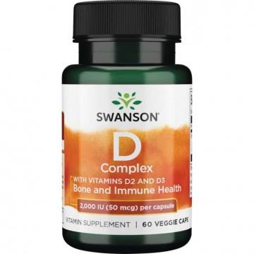 Vitamina D3 2000 UI Swanson